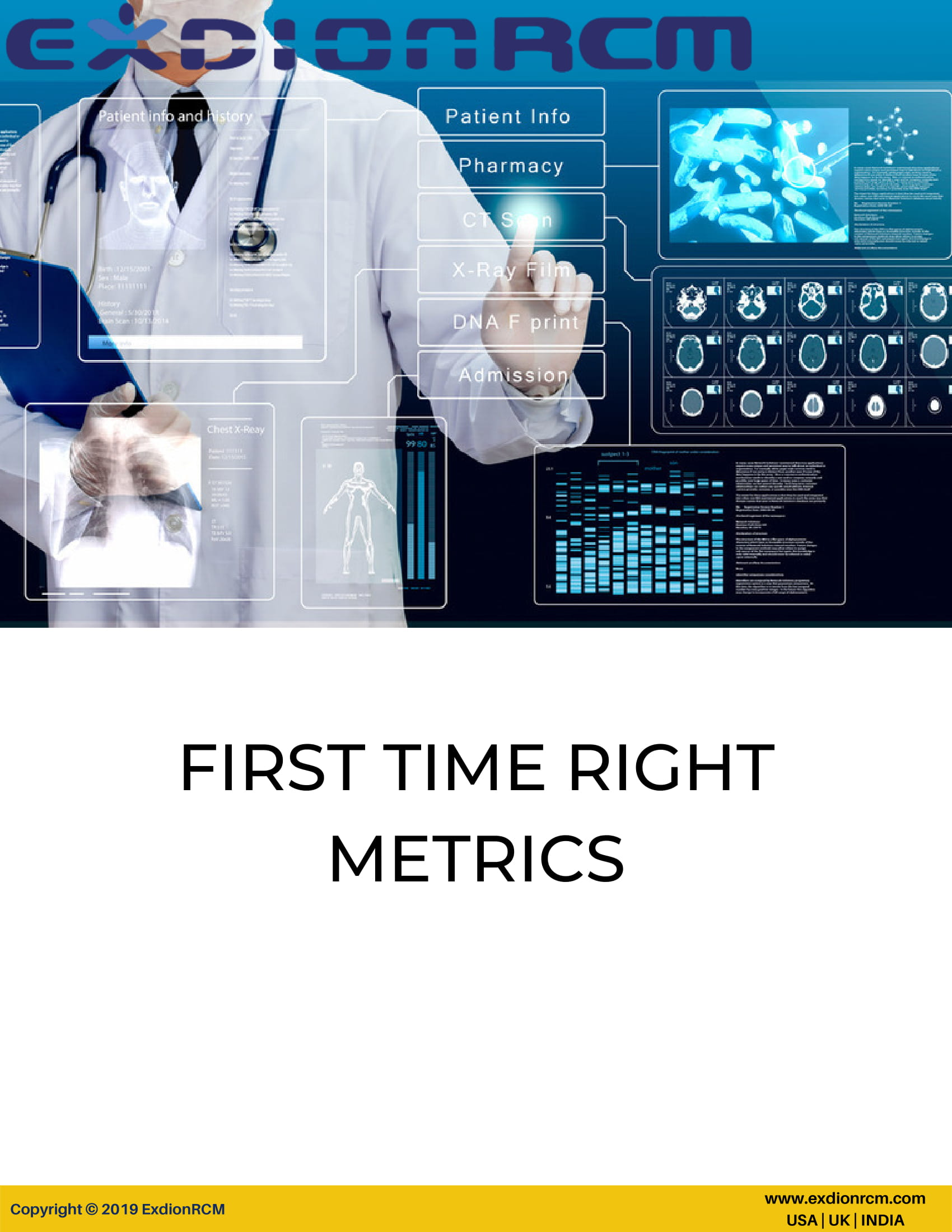 First-time-right-metrix